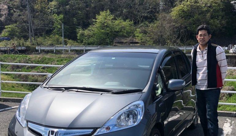 2012年 フィットハイブリット RS いよねこ様 鳥取県