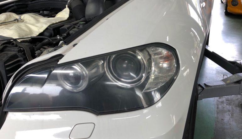 作業日記 【エアコンコンプレッサー交換】BMW X5