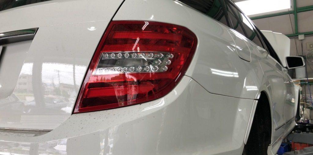 作業日記 【フロント・リアブレーキパット交換】メルセデスベンツ C180 ワゴン