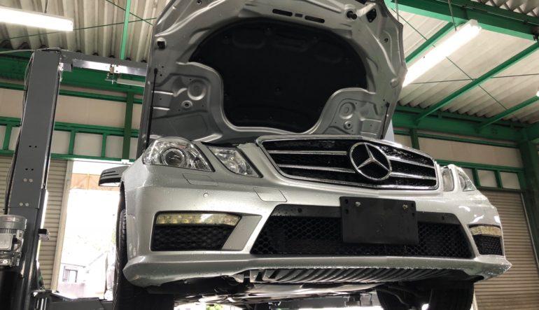 作業日記 E300 アバンギャルド 納車前整備