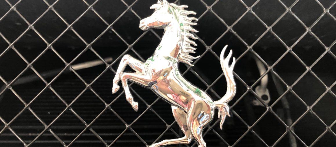 作業日記 【マフラー交換】 フェラーリ カリフォルニア