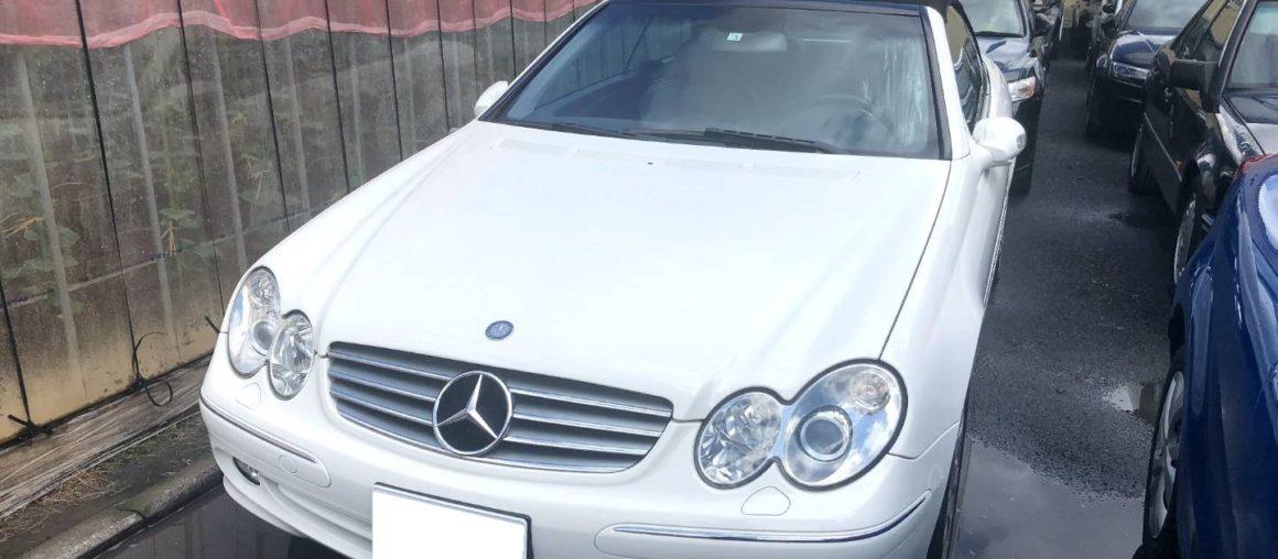 買取情報 2005年 メルセデス・ベンツ CLK320 カブリオレ