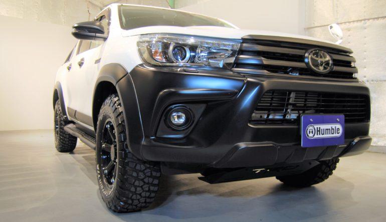 買取情報 2018年 トヨタ ハイラックス 2.4Z 1オーナー オプション多数