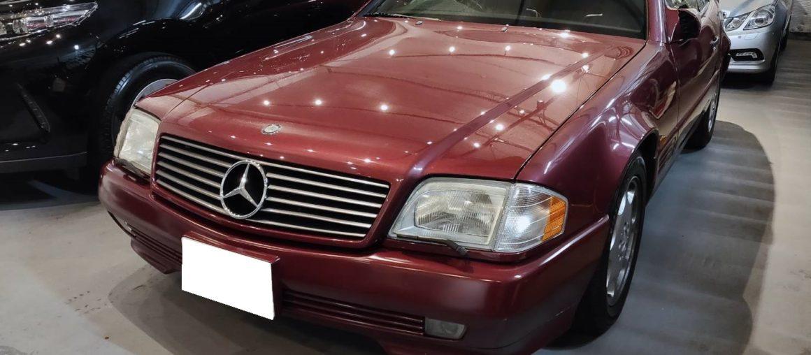 新入庫 SL500(R129) ガレージ保管 全ディーラー整備