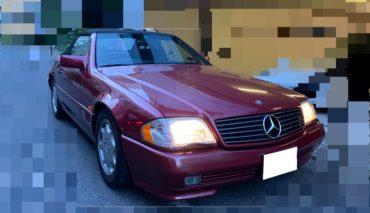 入庫予定 1995年 SL500 1オーナー 品川34ナンバー