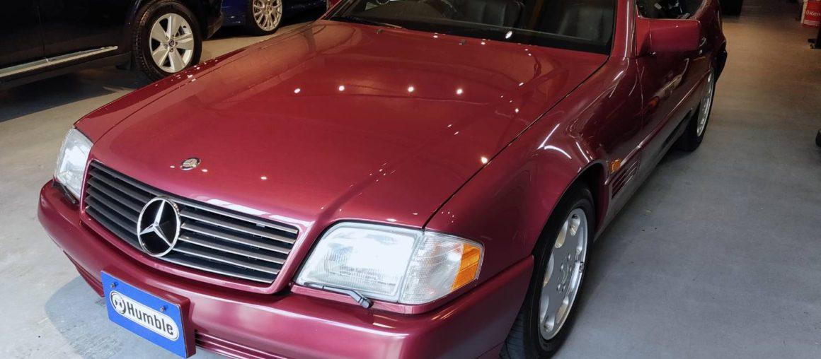 メルセデス・ベンツ SL500 ガレージ保管 全ディーラー整備 実質1オーナー
