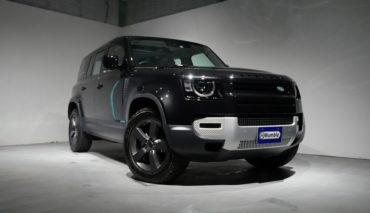 RANGEROVER ディフェンダー110 SE ブラックエクステリアパック パノラマサンルーフ エアサス ブラックルーフレール サントリーブラック